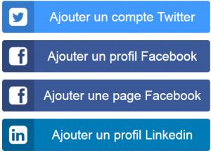 Runlater se synchronise avec Twitter, Facebook et LinkedIn
