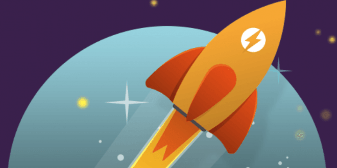 Logo de WP Rocket